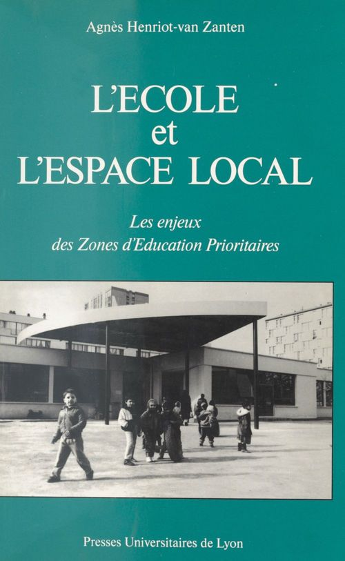 L ecole et l espace local