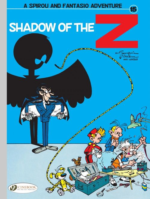 Spirou & Fantasio adventures T.15 ; shadow of the Z