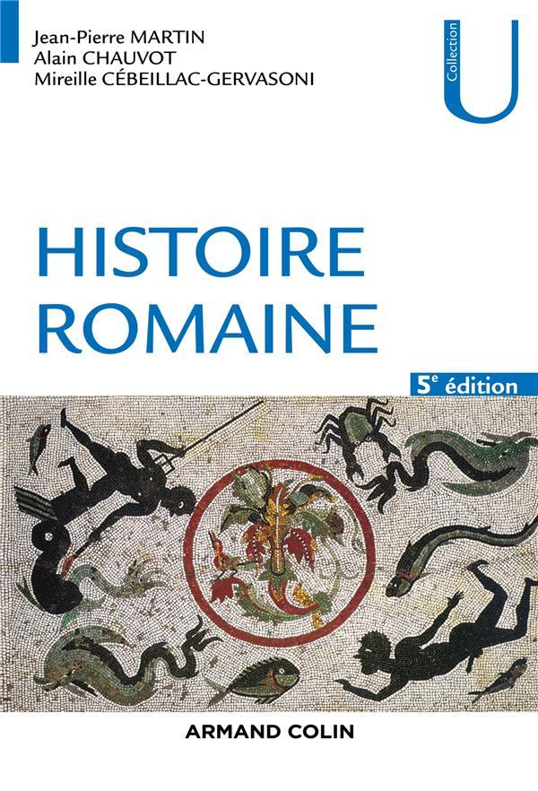 Rome t.1 ; histoire romaine (5e édition)