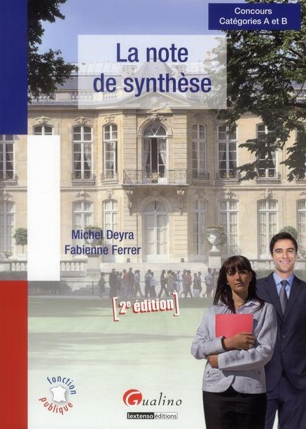 La note de synthèse (2e édition)