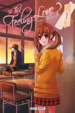 Vente Livre Numérique : Is this feeling Love ? T01  - Saki Aikawa