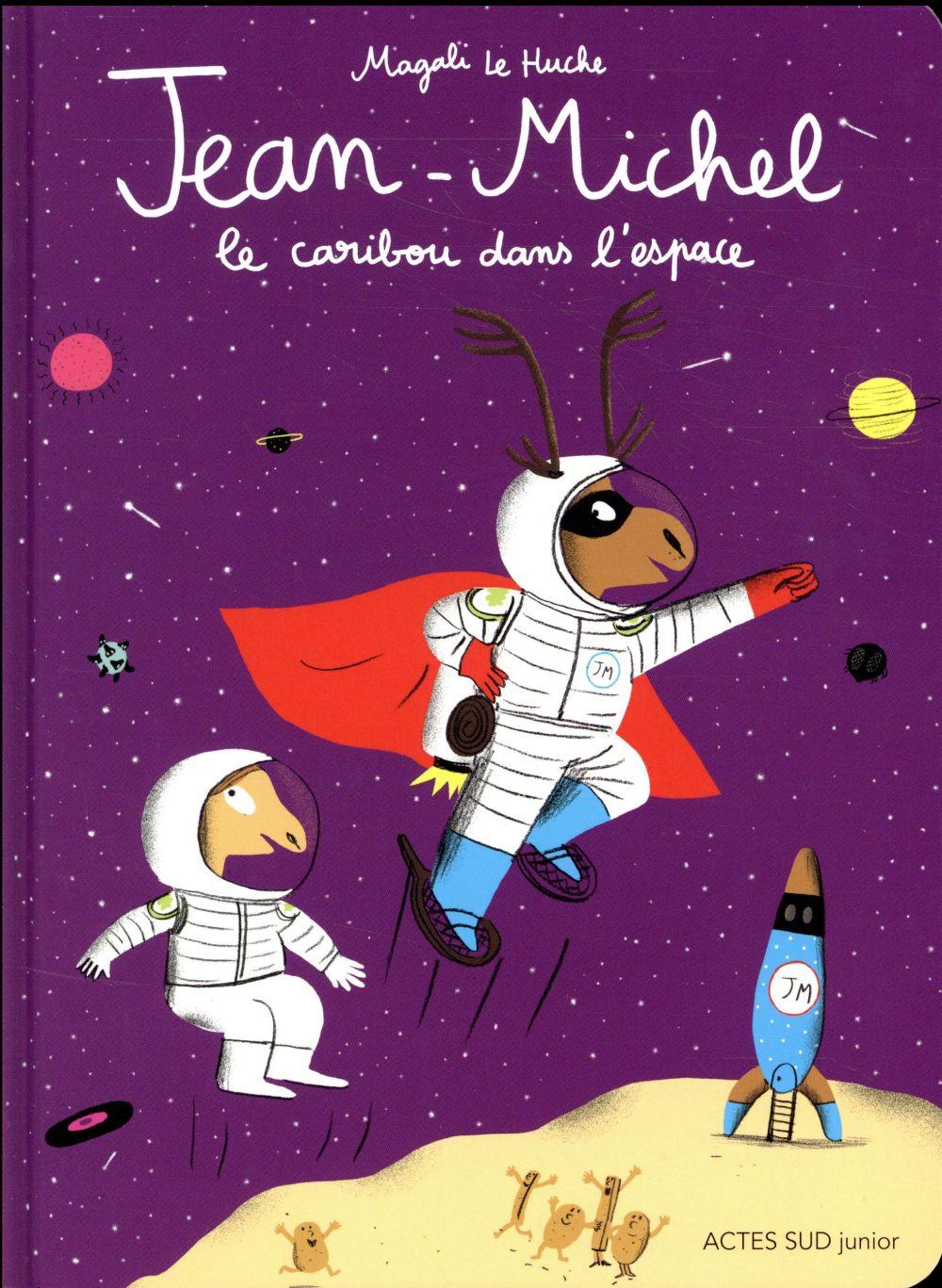 Jean-Michel le caribou dans l'espace