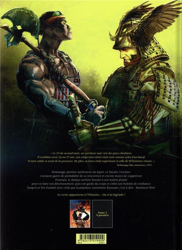 Kurusan, le samuraï noir t.1 ; Yasuke