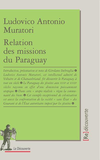 Relation des missions du paraguay