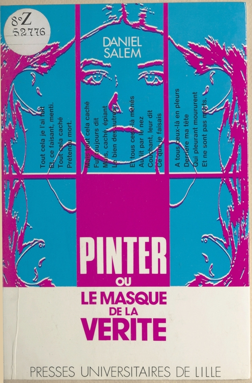 Pinter ou le masque de la verite