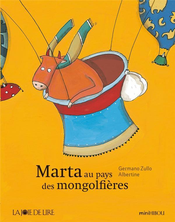 Marta au pays des montgolfières