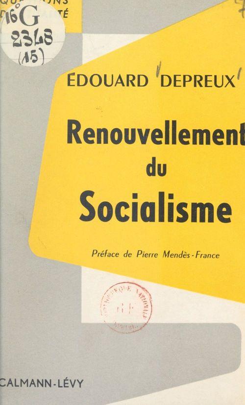 Renouvellement du socialisme