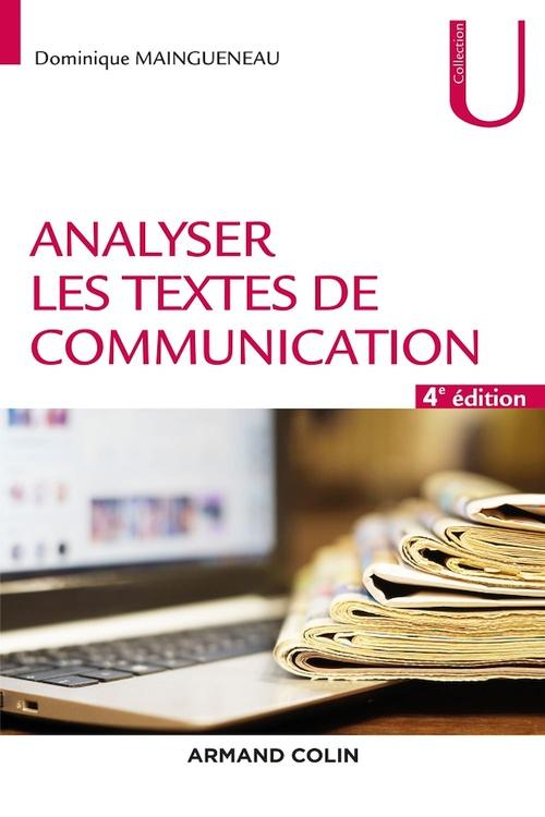 Analyser les textes de communication - 4e éd.