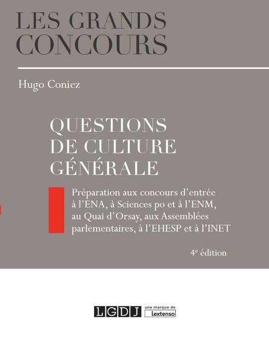 Questions de culture générale (4e édition)