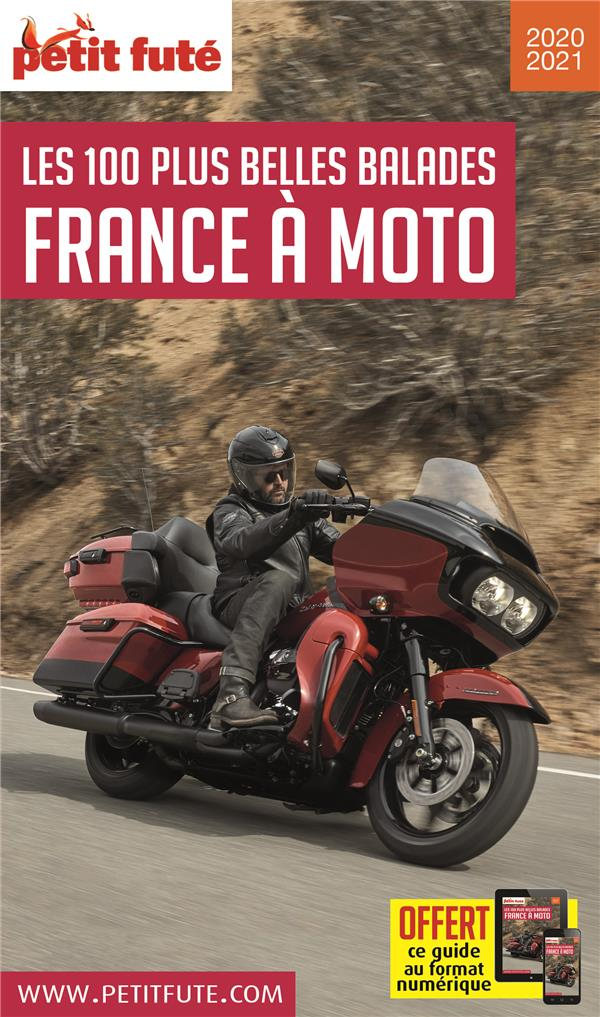 GUIDE PETIT FUTE  -  THEMATIQUES  -  FRANCE A MOTO (EDITION 2020)