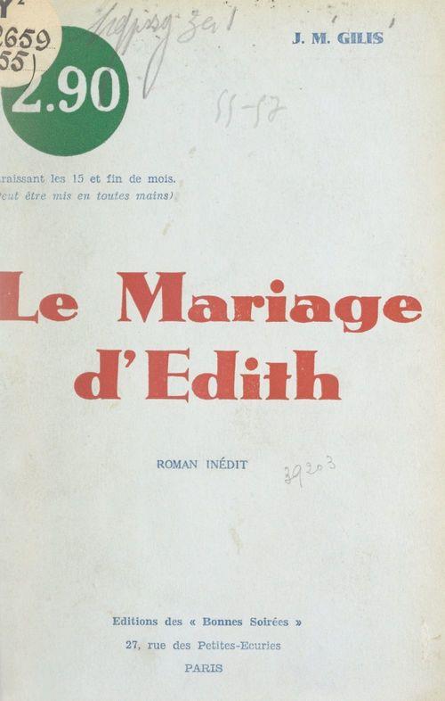 Le mariage d'Édith (Hollande, atmosphère, 1860)