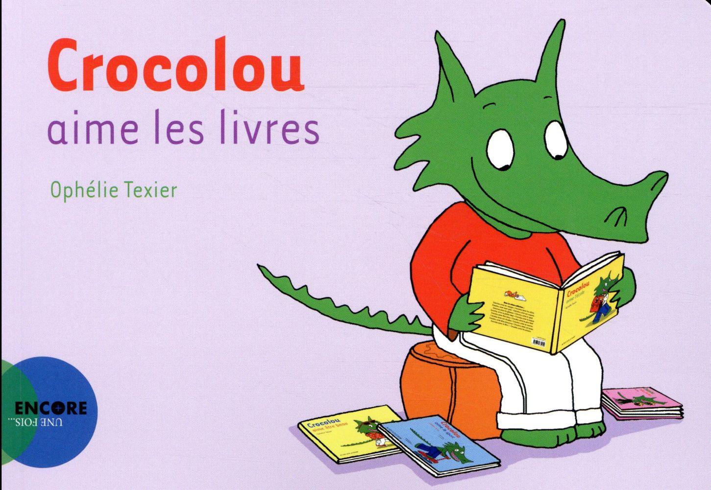 Crocolou aime les livres