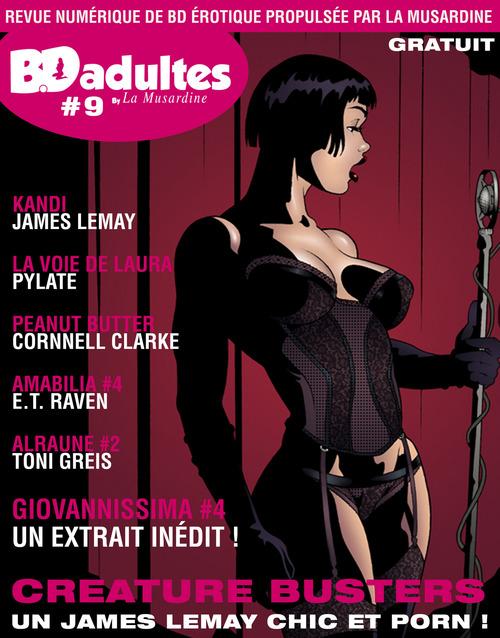 BD-adultes, revue numérique de BD érotique #9