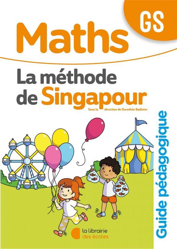 la méthode de Singapour ; maths ; GS ; guide pédagogique (édition 2020)