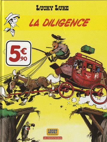 Lucky Luke T.1 ; la diligence