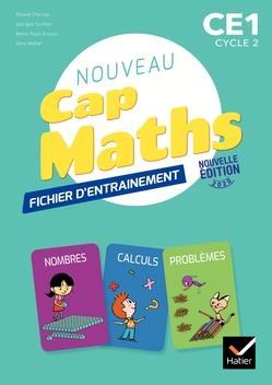 CAP MATHS CE1 ED. 2020 - FICHIER + CAHIER DE GEOMETRIE + LIVRET DE PROBLEMES XXX