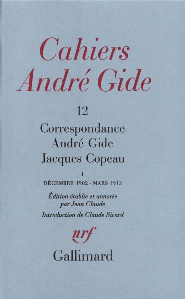 Correspondance ; décembre 1902 - mars 1913