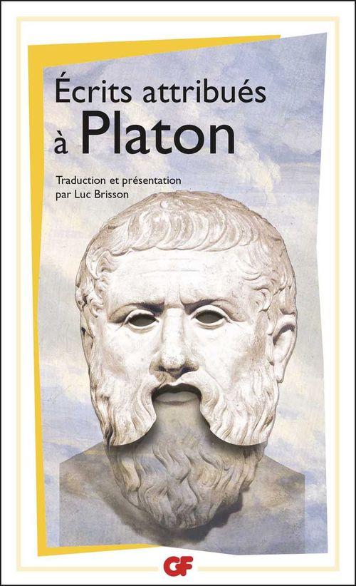écrits attribués à Platon