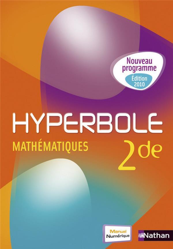 Hyperbole Maths 2de Gf 2010