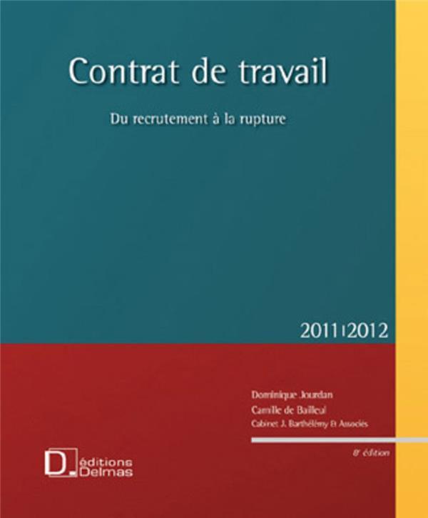 Contrat De Travail (Edition 2011/2012)