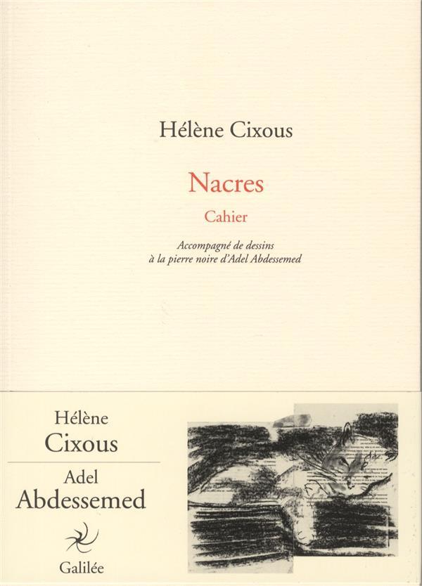 Nacres ; cahier