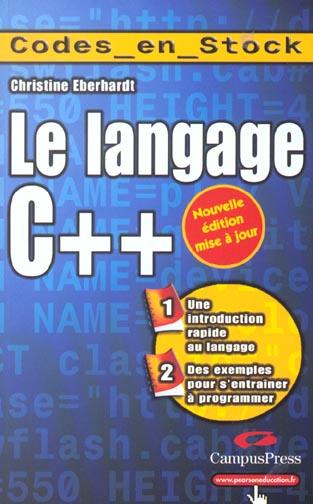 Langace c++