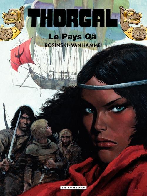 Thorgal - tome 10 Le pays Qâ  - Jean Van Hamme  - Grzegorz Rosinski  - Van Hamme