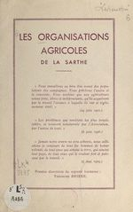 Les organisations agricoles de la Sarthe