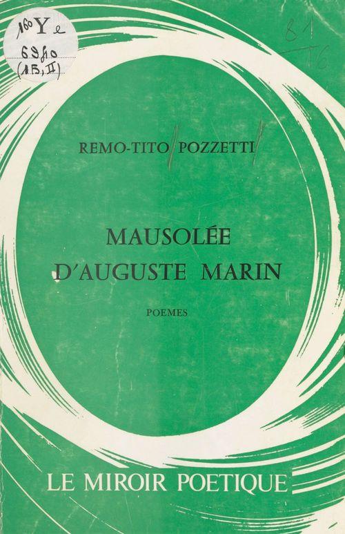 Mausolée d'Auguste Marin