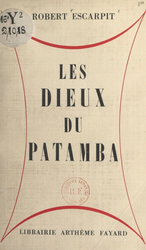 Les dieux du Patamba
