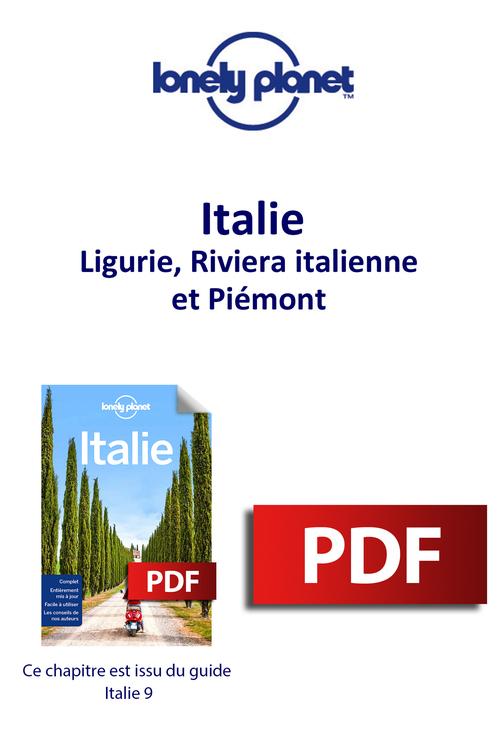 Italie - Ligurie, Riviera italienne et Piémont  - Lonely Planet Eng