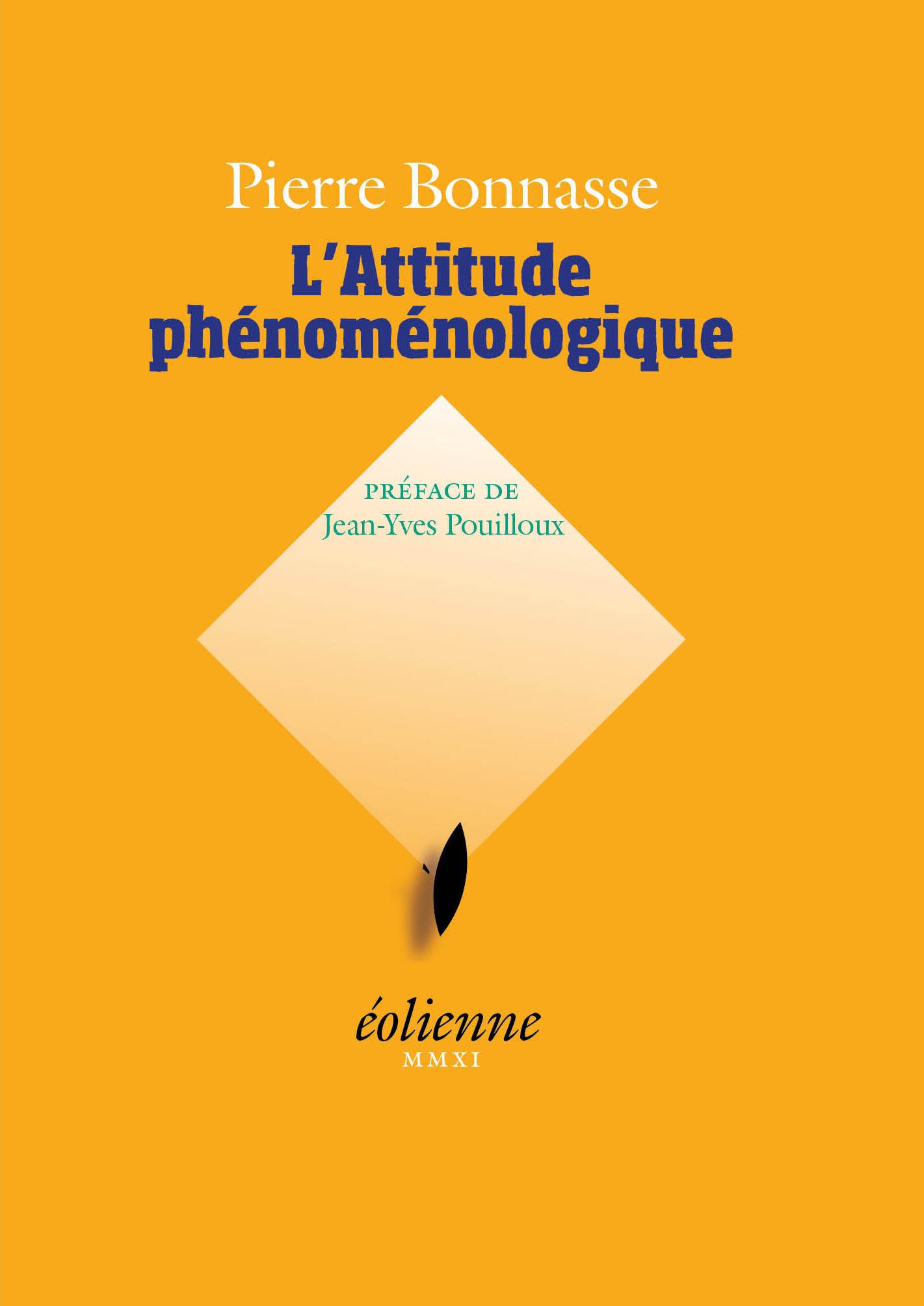 L'attitude phenomenologique