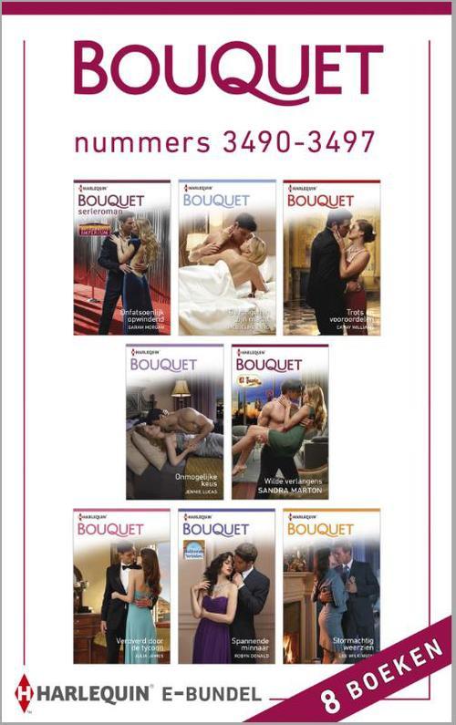 Bouquet e-bundel nummers 3490-3497 (8-in-1)