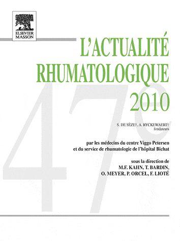 L'actualité rhumatologique 2010