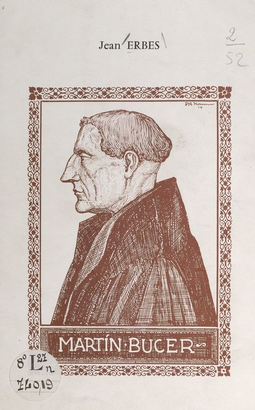 Martin Bucer  - Jean Erbès