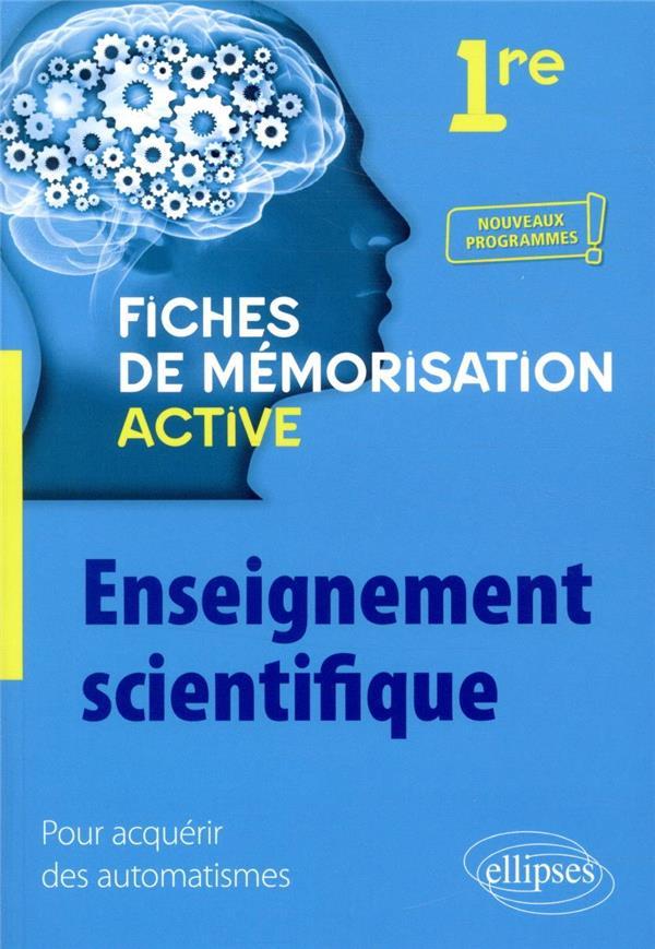 Enseignement scientifique - premiere - nouveaux programmes