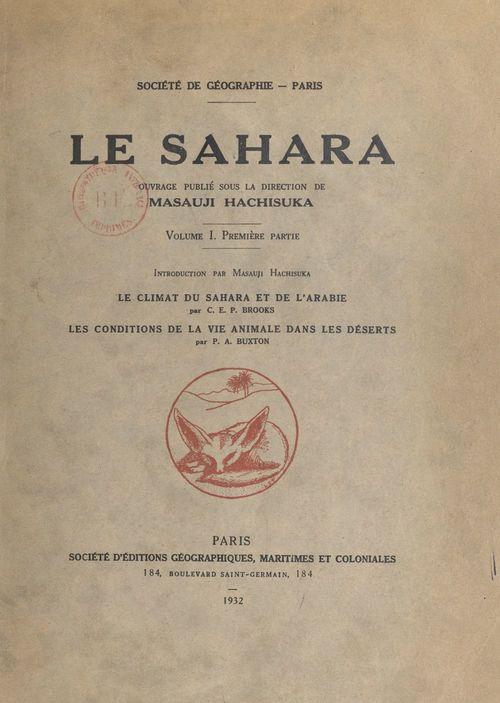 Le Sahara (1)