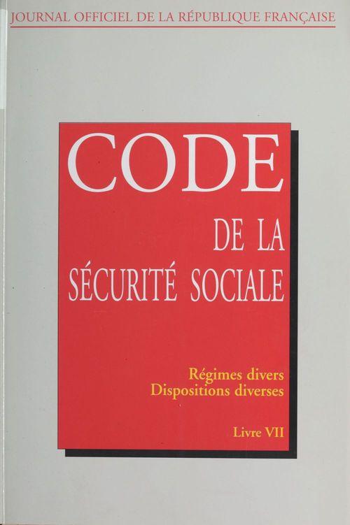 Code de la sécurité sociale (7)