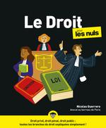Vente Livre Numérique : Le Droit pour les Nuls, grand format, 2ed éd.  - Nicolas GUERRERO