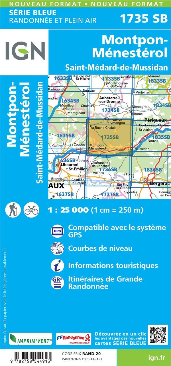 1735SB ; Montpon-Ménestérol