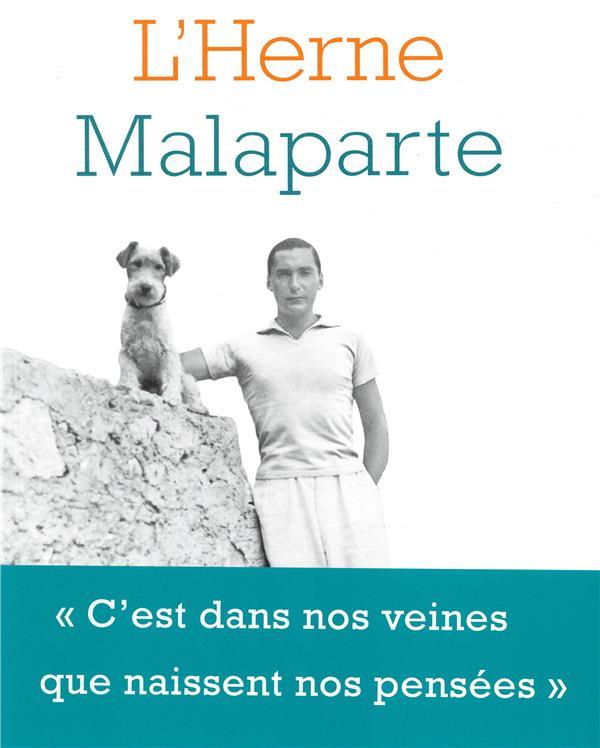 LES CAHIERS DE L'HERNE ; Malaparte