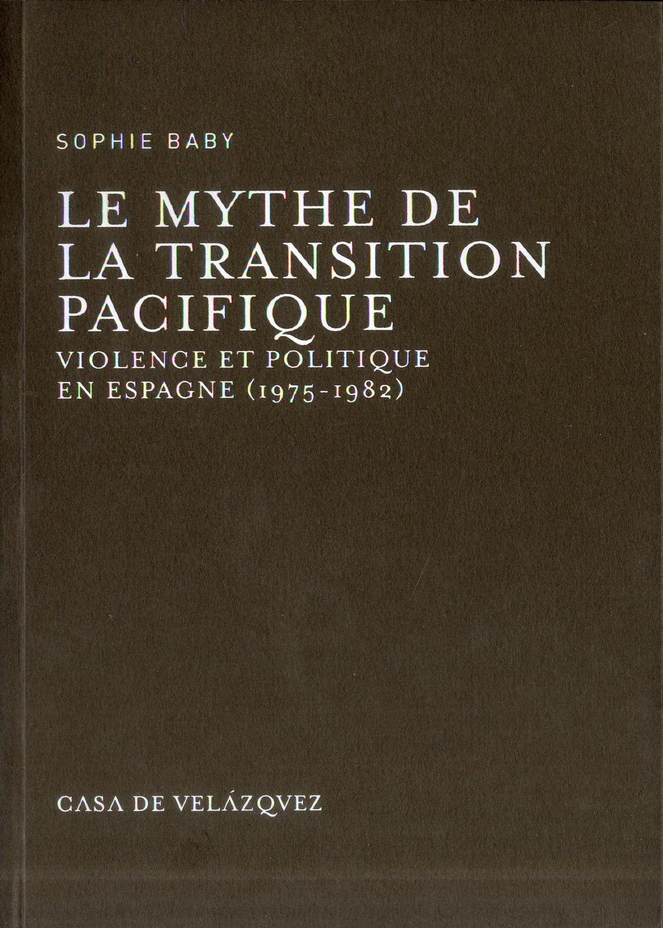 Mythe de la transition pacifique