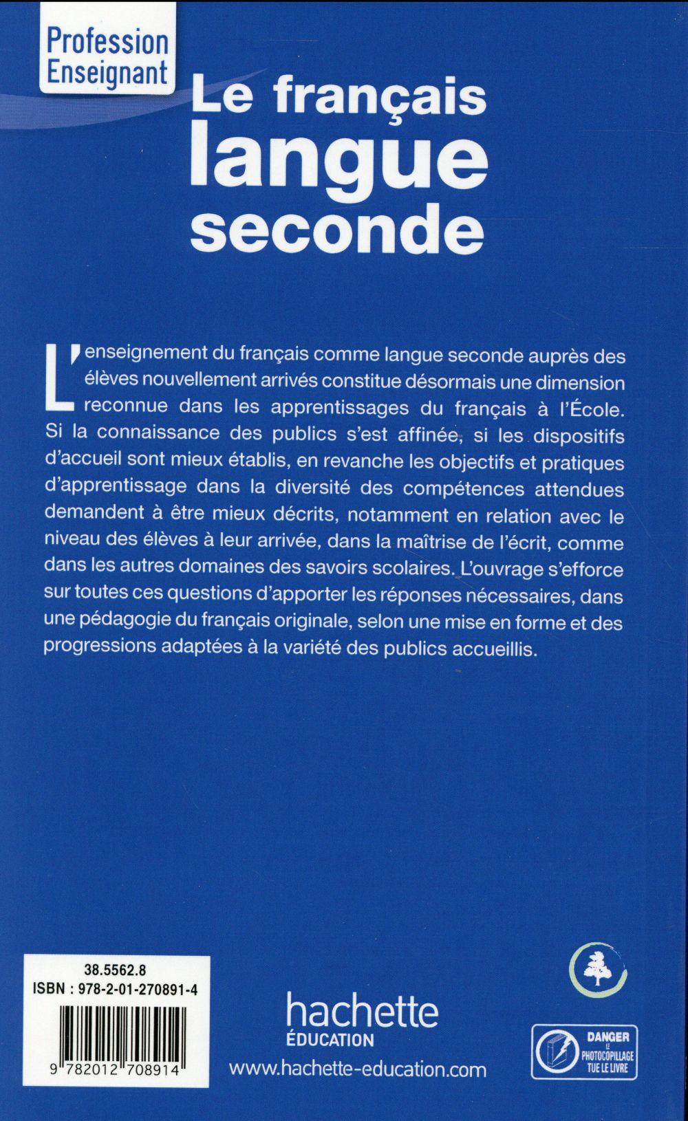 le français ; langue seconde