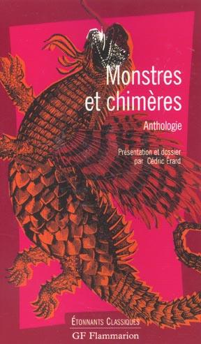 Monstres et chimères ; anthologie