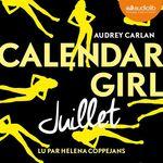 Calendar Girl - Juillet  - Audrey Carlan