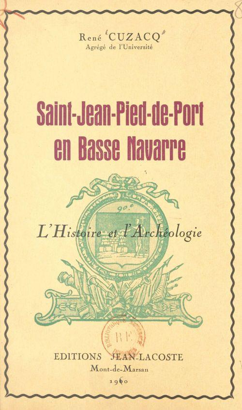 Saint-Jean-Pied-de-Port en Basse Navarre