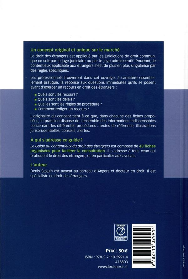 guide du contentieux du droit des étrangers (édition 2019/2020)