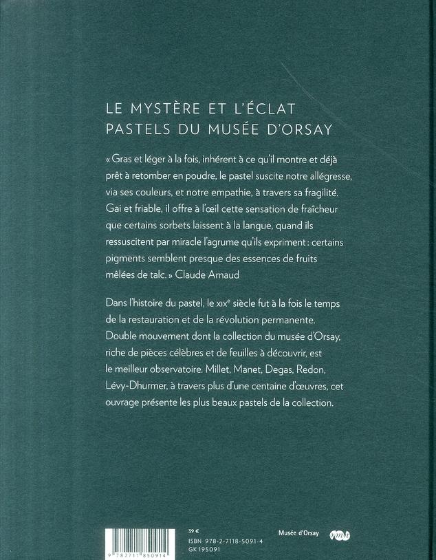 le mystère et l'éclat ; pastels du musée d'Orsay