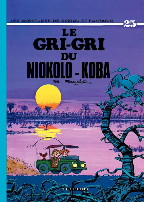 Les aventures de Spirou et Fantasio T.25 ; le gri-gri du Niokolo-Koba