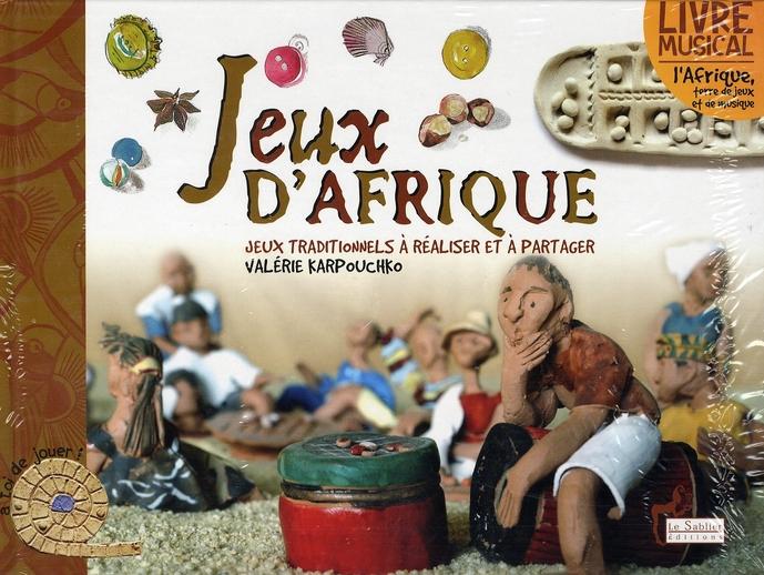 JEUX D-AFRIQUE LIVRE-CD